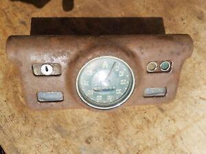 Vauxhall Wyvern Speedometer velox dashboard gauges hot rat rod special