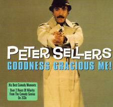 PETER SELLERS - GOODNESS GRACIOUS ME - HIS BEST COMEDY  MOMENTS (NEW SEALED 2CD)
