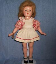 "18"" Antique Vintage Effanbee F&B Composition Doll~Original~WristTag~ANNE SHIRLEY"
