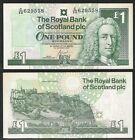 SCOZIA / SCOTLAND - 1 Pound 2001 UNC Pick 351e