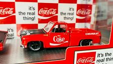 M2 Machines 1:64 Coca Cola/Coke 1970 Chevrolet C60 & 1979 Silverado