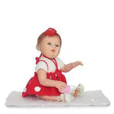 Full Body Silicone bebe Reborn Baby Girl Dolls 22'' Likelife Newborn gift fr