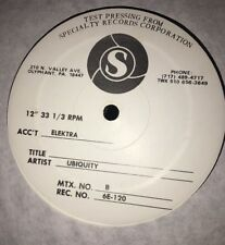 Roy Ayers - Ubiquity Starbooty — Test Pressing!