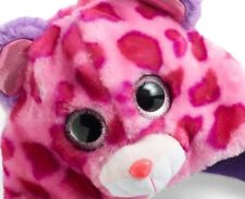 47eb54982fc Ty Beanie Boo s Collection Knit HAT and Pink Gloves Set NeW Glamour Leopard  NWT