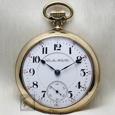 BIG Gold 1903 Hamilton 940 RAILROAD Grade Pocket Watch 18s Antique USA Lever Set