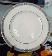 """Lenox China Jewels Sapphire Pattern 10.5"""" Dinner Plate New with Tags LAST ONE!"""