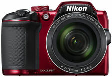 Nikon Coolpix B500 Red Digital Compact Camera
