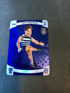 2021 AFL TEAMCOACH  TOM HAWKINS TROPHY STAR WILDCARD TSW03  GEELONG CATS