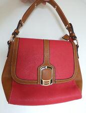 Gorett Bag Handbag Shopper Tote Hand Red Beige Smart Shoulder Work Office Tan