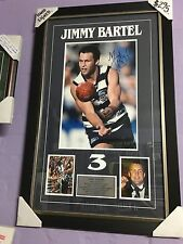 AWESOME JIMMY BARTEL HAND SIGNED PHOTOGRAPHIC COLLAGE VERY LOW PRICE RRP $295