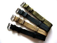 NATO G10 Commando Heavy Ballistic Nylon watchband strap Diver Aviatator Tactical