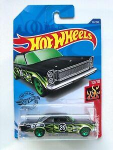 Hot Wheels '65 FORD GALAXIE 221/250 HW Flames 10/10 Mattel Diecast GHD63