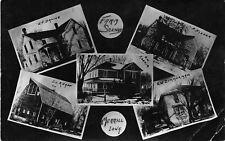 Merrill Iowa~Farm Homes~Danne~Knapp Barn~Fisher~Koenig~Zimmerman~x1914 RPPC