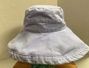 WOMENS SCALA COLLEZIONE LIGHT BLUE BUCKET HAT OSFM VERY GOOD CONDITION