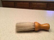 """Vintage Grooming Clothing Furniture Brush Wood Handle 5.5"""" long Used"""