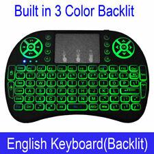 UK Wireless Mini Keyboard Rii i8 Air Mouse Keypad Remote Control Android TV Box