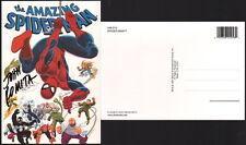 John Romita Sr SIGNED Spiderman UNIVERSAL STUDIOS Art Post Card Venom Black Cat