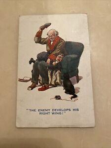 """""""Comique"""" Series Humourous Postcard 1916"""