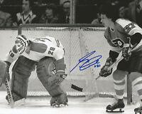 "REGGIE LEACH Autographed Signed 8"" x 10 Photo Philadelphia Flyers COA"