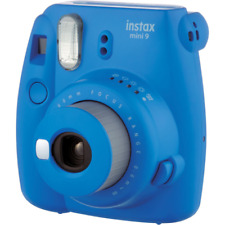 Fujifilm Instax Mini 9 Compact Instant Film Camera: Cobalt Blue