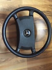 Mercedes Benz W126 original Echtleder-Lenkrad 1264640017