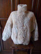 MONGOLIA JOSKA Pellicciotto Donna VINTAGE Double Face Women's fur coat Pelz