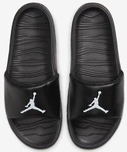 Nike Jordan Men Break Slide Slip On Flip Flop Sandal Beach Pool AR6374-010 Sz 10
