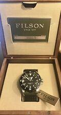 Shinola Filson Dutch Harbor Men's Watch 30 ATM Leather Band F0120001751 NWT USA