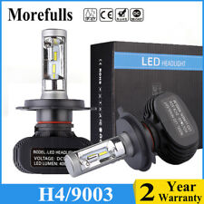 H4 9003 PHILIPS CSP LED Headlight Bulbs Conversion Kit High Low Beam 8000LM6500K