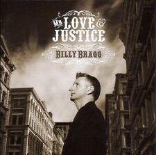 Billy Bragg - Mr. Love & Justice CD A New England Kirsty MacColl Robert Wyatt