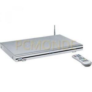 D-Link DSM-320 Wireless Media Player, Audio/Photo/Video, 802.11g