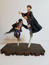 Harry Potter Flying figures mounted on stand Warner Bros. 2000
