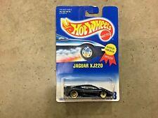 Hot Wheels Jaguar XJ220 #203 gold lace wheels! FREE shipping!