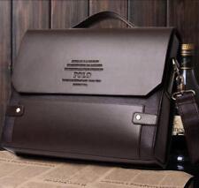 Men Designer Leather Bags Briefcase Shoulder crossbody bag  travel Laptop Bag