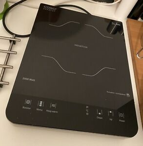 Caso Slim Line 2000 Induktion Koch Feld 2000 Watt Touch Display Edelstahl OVP