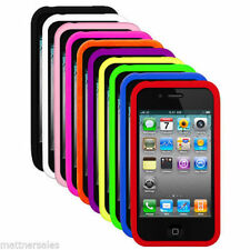 Unbranded/Generic Silicone/Gel/Rubber Matte Mobile Phone Cases, Covers & Skins for iPhone 4s