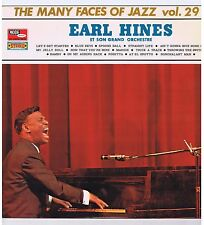 LP EARL HINES MANY FACES OF JAZZ VOL 29