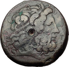 Ptolemy III Euergetes 246BC Alexandria Egypt BIG AE37 Ancient Greek Coin i65301