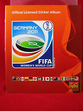 Panini mujeres WM 2011 en blanco del álbum álbum Women 's World Cup Germany 11 WC