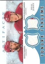 2012/13 UD Artifacts Tundra Tandems dual jersey card Keith Yandle /Ekman-Larsson