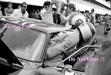 Francois Cevert & Jackie Stewart Ford Capri RS2600 Paul Ricard 1972 fotografía