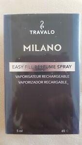 TRAVALO MILANO 5ML EASY FILL PERFUME SPRAY