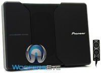 "PIONEER TS-WH500A 8.25"" COMPACT POWERED ENCLOSED SUBWOOFER SPEAKER AMPLIFIER NEW"