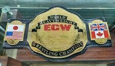 ECW World Heavyweight Wrestling Championship Replica Adult Size Belt WWF NWA A