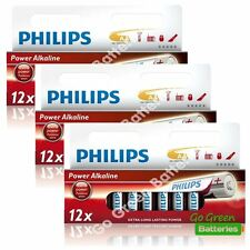 36 x Philips AA Power Alkaline Batteries, 1.5V LR6 MN1500 MIGNON, STILO