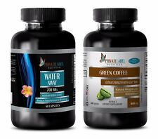 Immune vitamin c - WATER AWAY – GREEN COFFEE EXTRACT COMBO - cranberry capsules