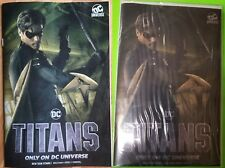 Two Special LTD Edition NYCOMICC ROBIN DC Titans 1 TV Streaming Foil+NonF Covers