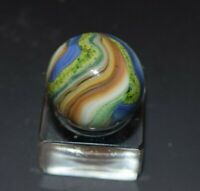 Handpicked JABO Collectors Multi-Color LUTZ Swirl Marble, Size 23/32 = .718 MINT