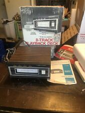 Realistic Tr-169 8 Track Player Tape Deck Works Great!
