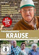 HORST KRAUSE - POLIZEIHAUPTMEISTER KRAUSE 5ER BOX KRAUSES FEST/KUR/ 5 DVD NEU